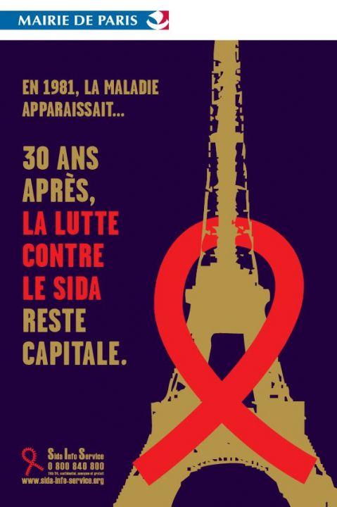 En 1981, la maladie apparaissait... 30 ans après la lutte contre le sida reste capitale - image/jpeg