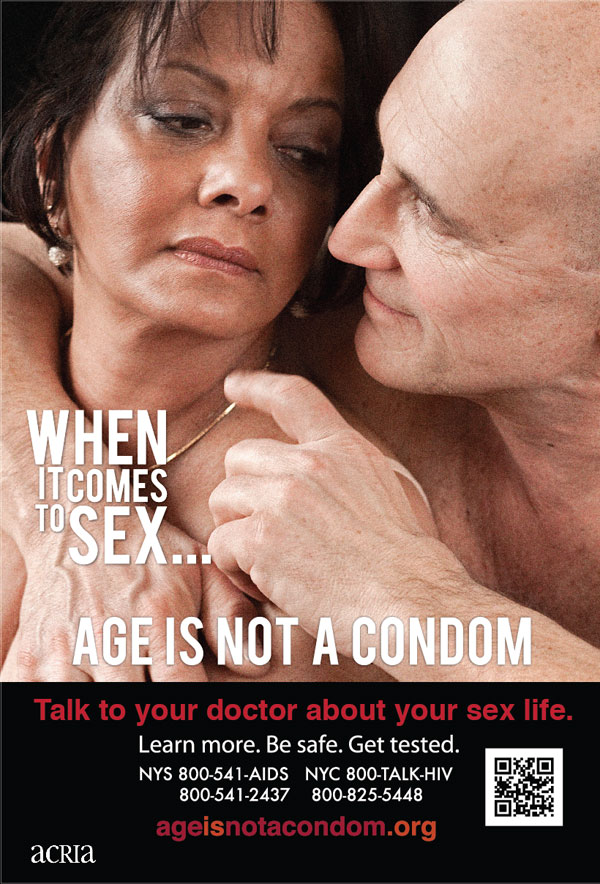 When it comes to sex... age is not a condom : talk to your doctor about your sex life (2/4) - image/jpeg