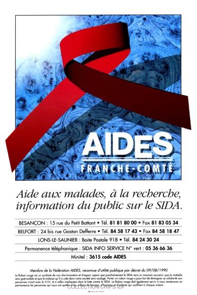AIDES Franche-Comté : aide aux malades, à la recherche, information du public sur le sida - URL