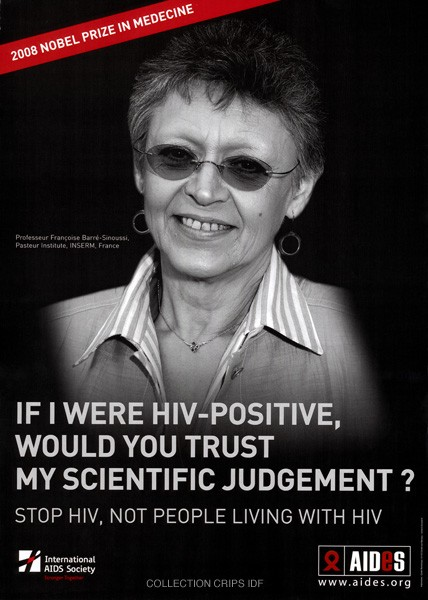 If I were HIV-positive, would you trust my scientific judgement ?  - URL