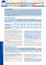 Contraception, IVG et IST chez les Franciliennes. Résultats du Baromètre santé 2010 de l'Inpes - application/pdf