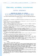 Arrêté du 10 juillet 2013 relatif à la prévention des risques biologiques auxquels sont soumis certains travailleurs susceptibles d'être en contact avec des objets perforants  - application/x-pdf