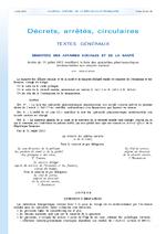 Arrêté du 31 juillet 2013 modifiant la liste des spécialités pharmaceutiques remboursables aux assurés sociaux - application/x-pdf