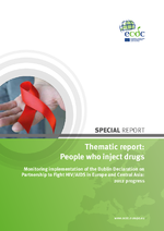 Thematic report, people who inject drugs : monitoring implementation of the Dublin Declaration on partnership to fight HIV/aids in Europe and Central Asia, 2012 progress report - application/x-pdf
