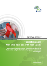 Thematic report, men who have sex with men : monitoring implementation of the Dublin Declaration on partnership to fight HIV/aids in Europe and Central Asia, 2012 progress report - application/x-pdf