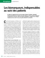 Les biomarqueurs, indispensables au suivi des patients - application/x-pdf