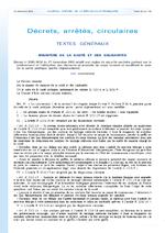 Décret n° 2005-1618 du 21 décembre 2005 relatif aux règles de sécurité sanitaire portant sur le prélèvement et l'utilisation des éléments et produits du corps humain et modifiant le code de la santé publique (partie réglementaire) - application/x-pdf