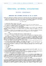 Arrêté du 5 juillet 2013 modifiant l'arrêté du 23 décembre 2010 pris en application des articles R. 1211-14, R. 1211-15, R. 1211-16, R. 1211-21 et R. 1211-22 du code de la santé publique et l'arrêté du 19 septembre 2011 relatif aux conditions d'utilisatio - application/x-pdf