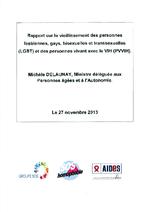 Rapport sur le vieillissement des personnes lesbiennes, gays, bisexuelles et transsexuelles (LGBT) et des personnes vivant avec le VIH (PvVIH) - application/x-pdf