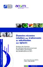 Données récentes relatives aux traitements de substitution aux opiacés - application/x-pdf