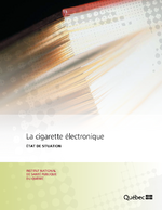 La cigarette électronique, état de la situation - application/x-pdf