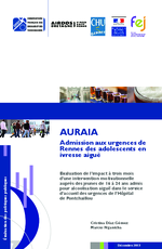 AURAIA : Admission aux urgences de Rennes des adolescents en ivresse aïgue - application/x-pdf