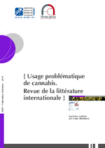 Usage problématique de cannabis : Revue de la littérature internationale - application/x-pdf