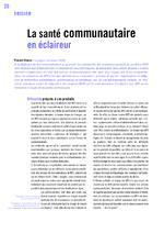La santé communautaire en éclaireur - application/x-pdf