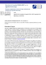 Résultats de l'enquête ETINCEL-OFDT sur la cigarette électronique - application/x-pdf
