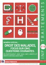 Info Traitements n° 215 Droit des malades, focus sur cinq questions courantes - application/x-pdf