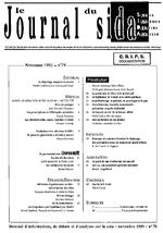 Journal du sida (Le). n° 79 - application/x-pdf