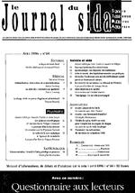 Journal du sida (Le). n° 84 - application/x-pdf
