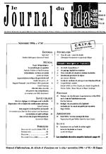 Journal du sida (Le). n° 91 - application/x-pdf