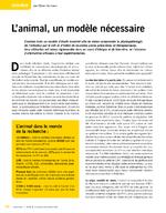Recherche : l'animal, un modèle nécessaire - application/x-pdf