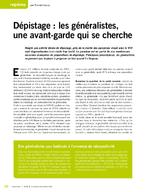 Dépistage : les généralistes, une avant-garde qui se cherche - application/x-pdf