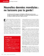 Nouvelles données mondiales : ne baissons pas la garde ! - application/x-pdf