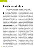 Investir plus et mieux - application/x-pdf