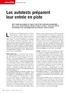 Les autotests préparent leur entrée en piste - application/x-pdf