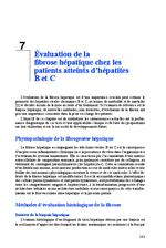 Prise en charge des personnes infectées par les virus de l'hépatite B ou de l'hépatite C Chapitres 7 à 14 - application/x-pdf
