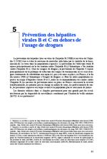 Prévention des hépatites virales B et C en dehors de l'usage de drogues (Rapport experts 2014 Chapitre 5) - application/x-pdf