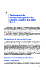 Evaluation de la fibrose hépatique chez les patients atteints d'hépatites B et C (Rapport d'experts 2014 Chapitre 7) - application/x-pdf