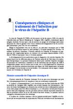 Conséquences cliniques et traitement de l'infection par le virus de l'hépatite B (Rapprt d'experts 2014 Chapitre 8) - application/x-pdf