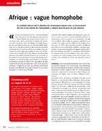 Afrique : vague homophobe - application/x-pdf