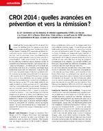 CROI 2014 : quelles avancées en prévention et vers la rémission ? - application/x-pdf