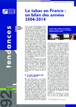 Tendances. n°92 (mai 2014) - application/x-pdf