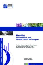 Héroïne composition, prix, connaissances des usagers - application/x-pdf