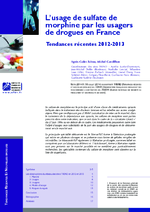 L'usage de sulfate de morphine par les usagers de drogues en France - application/x-pdf