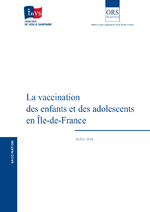 La vaccination des enfants et des adolescents en Ile-de-France - application/x-pdf