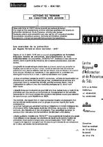 Lettre du CRIPS Ile-de-France. n° 15: Actions de terrain en direction des jeunes - application/x-pdf
