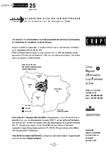 Lettre du CRIPS Ile-de-France. n° 25: Epidémiologie du sida en Ile-de-France : analyse de la situation au 31 décembre 1992 - application/x-pdf