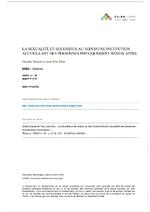 La sexualité et ses enjeux au sein d'une institution - application/x-pdf