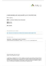 Corps handicapé, sexualité, loi et institution - application/x-pdf
