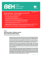 BEH (Bulletin Epidémiologique Hebdomadaire). Vol. 2007, n° 21 (29 mai 2007)  - application/x-pdf