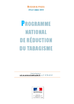 Programme national de réduction du tabagisme - application/x-pdf
