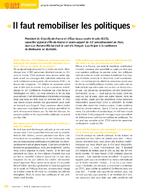 Il faut remobiliser les politiques - application/x-pdf