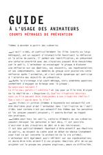 Scénarios sur la drogue : fiches d'animation  - application/x-pdf