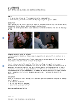 3000 scénarios contre un virus : L'attente - Fiche d'animation  - application/pdf