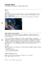 Poisson Rouge : fiche d'animation  - application/pdf