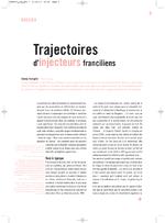 Trajectoires d'injecteurs franciliens - application/x-pdf