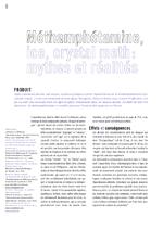 Méthamphétamine, ice, crystal meth : mythes et réalités - application/x-pdf